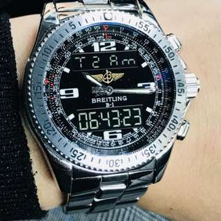 Breitling Professional series B-1 (Breitling Box & Service Papers (One year warranty to Feb 2019)