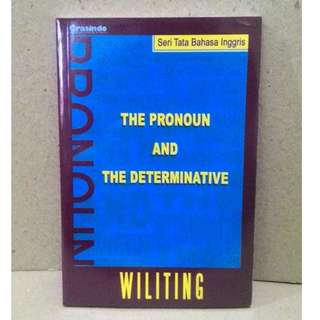 Buku The Pronoun And The Determinative Seri Tata Bahasa Inggris