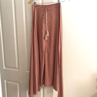 Paper closet maxi skirt