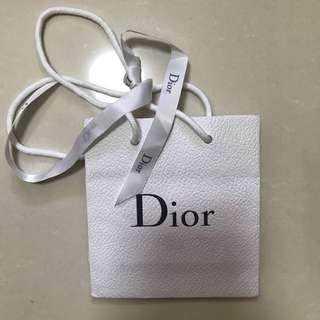 Dior small paper bag
