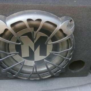 Memphis Subwoofer + RS7.1 Preamp + Debezt 1000w Amp