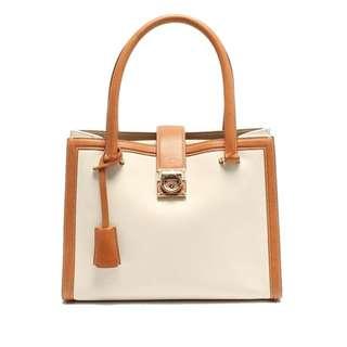 Vintage Salvatore Ferragamo Leather Handbag