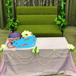婚禮佈置,Candy corner,  珠鏈