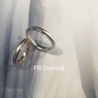 🦋FIR Diamond💎結婚對戒