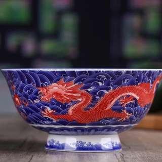 "6.5"" Celestial Thousand Dragon Noodle Ramen Bowl"