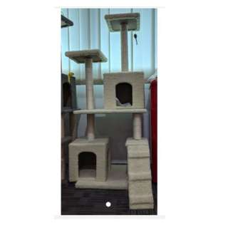 1.5 m Cat Tree House / Cat House - Double Box Version