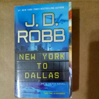 J D Robb New York to Dallas