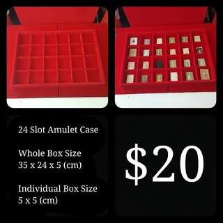 24 Slot Amulet Casing Tray (Brand New)