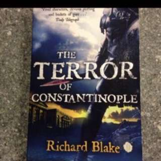 Offer! The Terror Of Constantinople By Richard Blake