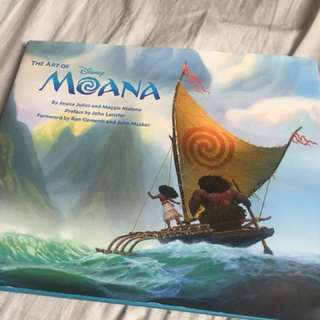 🚚 海洋奇緣 美術設定集 the art of moana
