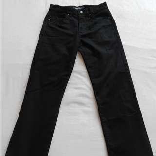Black Hangten Long Pants