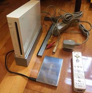 任天堂 Wii + 320GB Hard Disk Nintendo