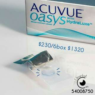 Acuvue Oasys 1day con
