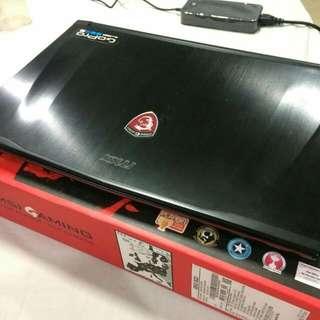 MSI GE62 6QD Apache Pro-487PH Gaming Laptop