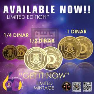 LIMITED EDITION DINAR UITM