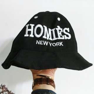 🚚 HOMIES 率性短帽簷休閒帽