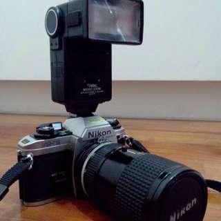 Nikon FG-20 SLR Camera