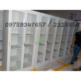 GLASS SLIDING CABINET - office furniture - partition