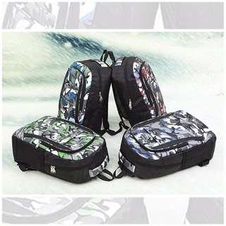 Camo bagpack