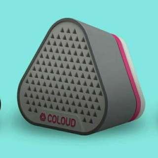Cloud Bang Portable Speaker Grey-pink