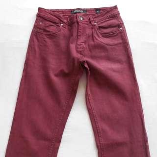 Red Spitfire Jeans