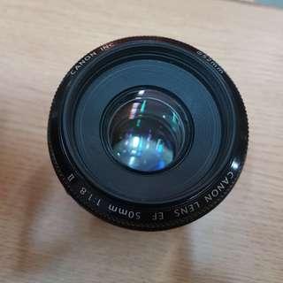 Canon 50mm F1.8 mark ii