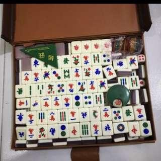 Mahjong Set Mini Purple Glitter Design 2018 new year