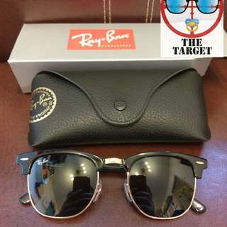 ray ban clubmaster rb3016 51mm size discount 1