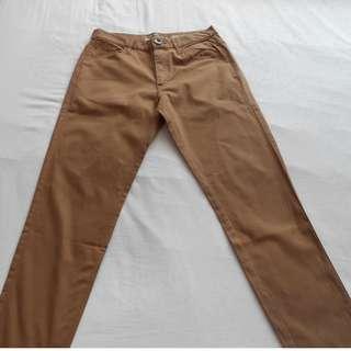 Khaki Giordano Long Pants