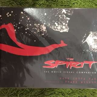 The spirit art of the movie frank miller