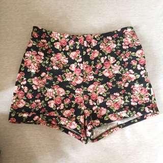 Forever 21 Floral Shorts