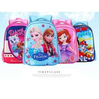Kids School Bag Cartoon Primary School Bag Children School Bag