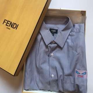 全新Fendi Monster Men Shirt 41(M碼) 原價$4000