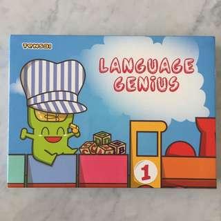 $18 Shichida Flash Cards Language Genius 1