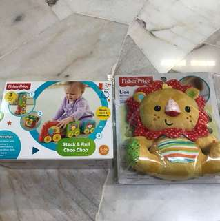 Brand new fisher price toys
