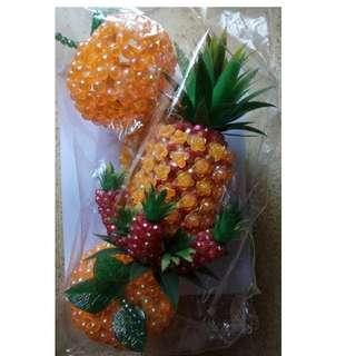 Chinese New Year Decorations - Pineapple/Mandarin Displays