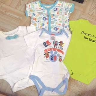 Onesies set of 4