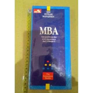Seri Intisari Manajemen MBA