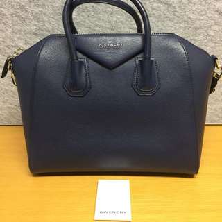 Givenchy Antigona Navy Medium 100% REAL