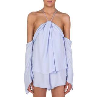 Bec and Bridge Blue Playsuit