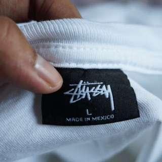 Stussy International  Tribe White T-Shirt