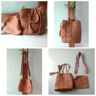 Korean Bag Brown
