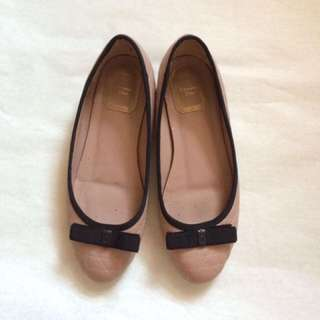 Dior authentic nude flatshoes