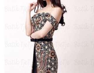 batik tjetje lindy dress S-M new