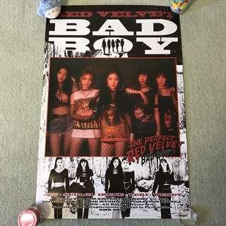 RED VELVET - Bad Boy (Poster) [UNFOLDED]