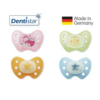 Dentistar Tooth-friendly Night Pacifier / Soother (14+ months) size 3 without ring