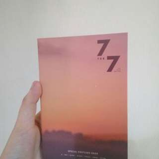 GOT7 7for7 magic hour special postcard book preorder benefit