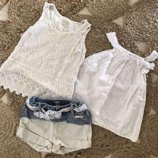Mango, Zara, Cotton On combo