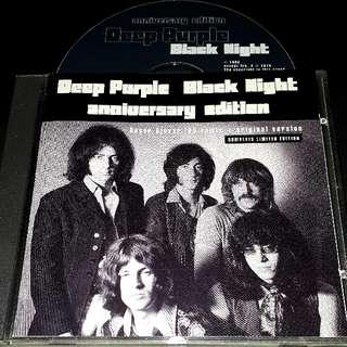 deep purple (black night anniversary edition) limited edition numbet 1497 - rare