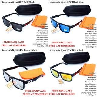 Kacamata Pria Sunglasses SPY Black